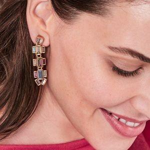 Hatley Baguette Earrings-Multi